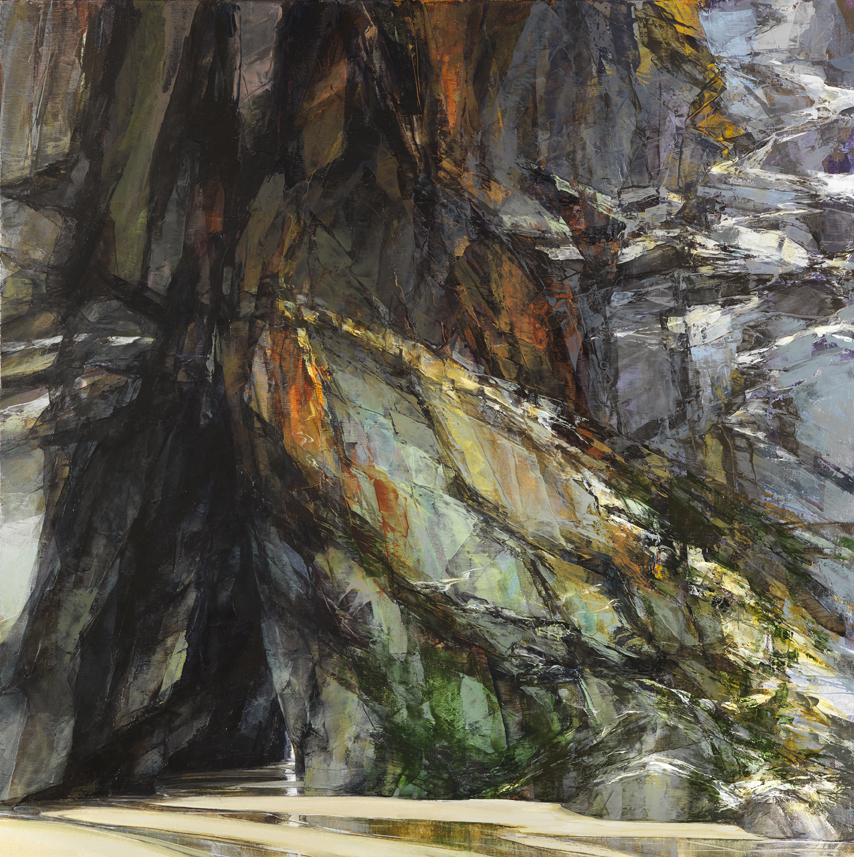 sarah-adams-chapel-porth-summer-oil-on-linen-100-x-100-cm
