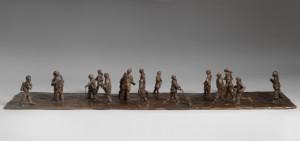 Mo Farquharson, 'Street 4', bronze